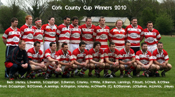 County Cup winning team of 2010